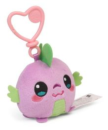 My Little Pony Spike Clip On Soft Toy Purple- Height 16.5 cm