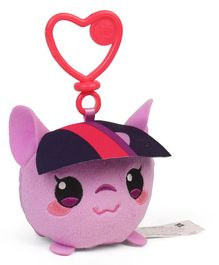 My Little Pony Twilight Clip On Soft Toy Purple - Height 16.5 cm