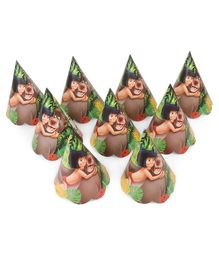 Jungle Book Paper Cap Pack of 9 - Multicolour
