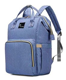 R for Rabbit Caramello Backpack Style Diaper Bag - Blue
