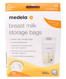 Medela Breastmilk Storage Bags Pack of 25 - 180 ml Each