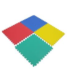 Yoto Interlocking Play Mat 16 mm Thickness Set Of 4 Tiles - Multicolour