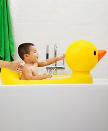Munchkin White Hot Inflatable Safety Duck Tub - Yellow