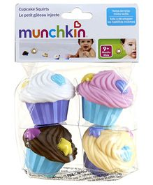 Munchkin Cupcake Squirts Pack of 4 - Multi Colour