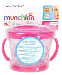 Munchkin Snack Container Pink - Height 7.5 cm