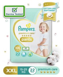 Pampers Premium Care Pant Style Diapers XXL Size- 22 Pieces