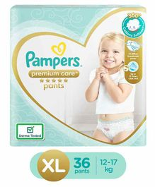 Pampers Premium Care Pant Style Diapers XL Size - 36 pieces