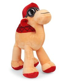Starwalk Camel Soft Toy With Red Cap & Glasses - Height 30 cm