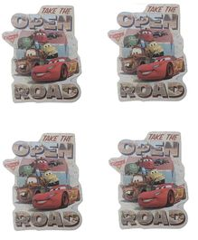 Party Anthem Disney Pixar Cars & Friends Wall Sticker Pack of 4 - Multi Color
