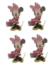 Party Anthem Disney's Minnie Mouse Wall Sticker - Pack of 4