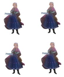 Party Anthem Disney's Anna Frozen Wall Stickers - Pack of 4