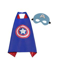 Party Anthem Super Hero Cape and Mask - Blue