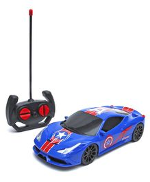 Wembley High Speed Remote Control Racing Car - Blue