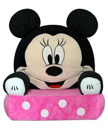 Disney Minnie Mouse Sofa Seat - Black Pink