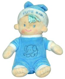 Soft Buddies Baby Candy Doll Small Blue - 16.5 cm