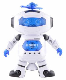 Planet of Toys Battery Operated Dancing Robot - White