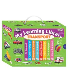 Art Factory My Learning Library Transport - English