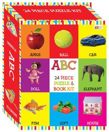 Art Factory Puzzle & Book Kit Multicolour - Pack of 24 Pieces