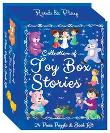 Art Factory Toy Box Stories Book & Puzzle Kit -24 Pieces