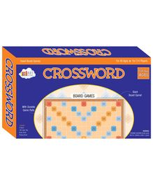 Art Factory Crossword Board Game - Multicolour