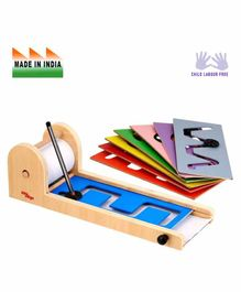 Eduedge Wooden Pattern Writing  Educational Toy - Multicolor