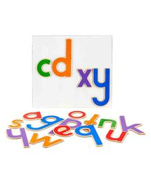 Eduedge Magnetic 26 Small Letters - Multi Colour