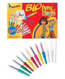 Toys Bhoomi Malinos Magic Colour Pen Pack of 11 - Multi Colour