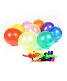 Balloon Junction Metallic Balloons Pack of 50 - Multicolour