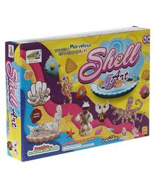 NHR Mansaji Innovative Shell Art Kit - Multicolour