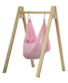 CuddlyCoo Hammock With Stand - Pink