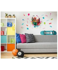 Asian Paints Wall Ons Motu Patlu Party Time Removable Wall Sticker - XL