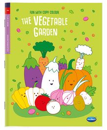 Fun With Copy Colour The Vegetable Garden - English