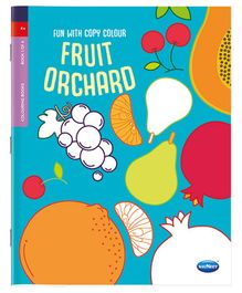 Fun With Copy Colour Fruit Orchard - English
