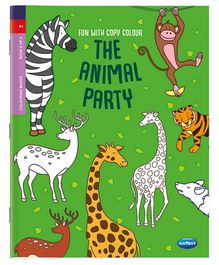 Fun With Copy Colour The Animal Party - English