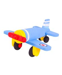 Brainsmith Wooden Paint and Play Aeroplane Kit - Multi Colour