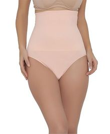 Clovia High Waist Tummy Tucker - Pink