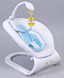 Baby Musical Bouncer - White Blue