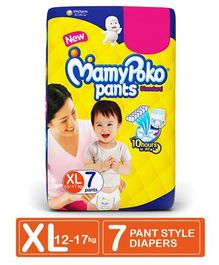 MamyPoko Pant Style Diapers Extra Large Size - 7 Pieces