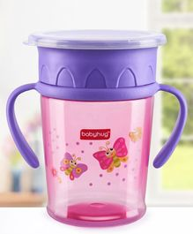 Babyhug All Round Sipper Pink & Purple - 360 ml