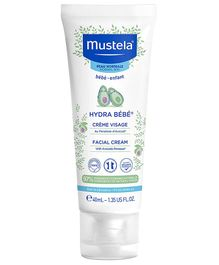 Mustela Hydra Bebe Facial Cream - 40 ml