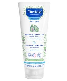 Mustela 2 in 1 Cleansing Gel - 200 ml