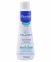 Mustela Stelatopia Bath Oil - 200 ml