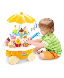 Webby Sweet Shopping Cart - Yellow