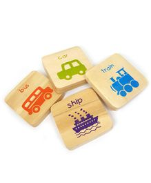 Ivei Educational Vehicle Magnets - Pack of 4