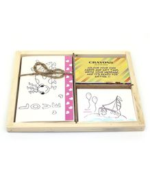 Ivei DIY Greeting Cards & Tag Box - Multi Color
