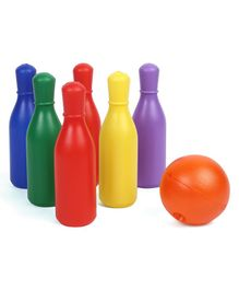 Ratnas Junior Fun Bowling Set - Multicolour