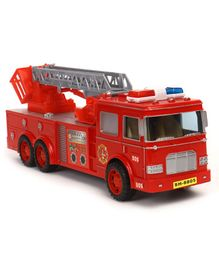 Dr. Toy Friction Fire Truck Toy - Red