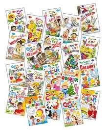 Sawan Colouring Book Set of 20 - English