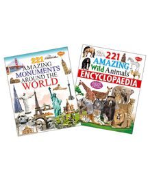 Amazing Monuments & Wild Animals Encyclopedia Set of 2 - English