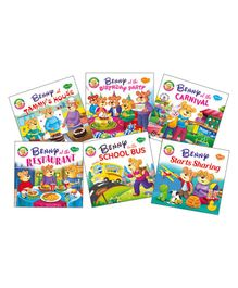 Benny First Stories Morals Theme Set of 6 - English